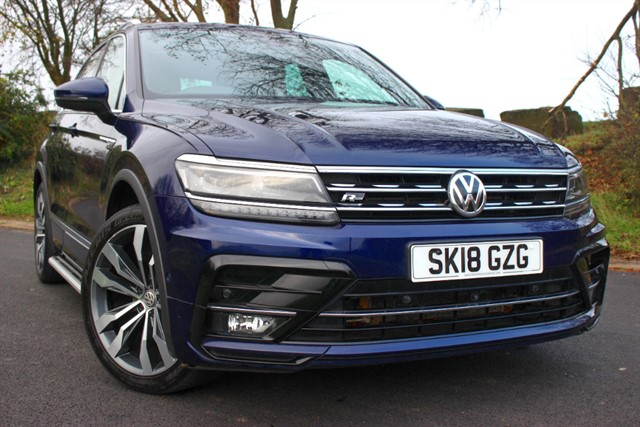 used VW Tiguan R Line TDI BMT 4Motion DSG in sheffield-south-yorkshire