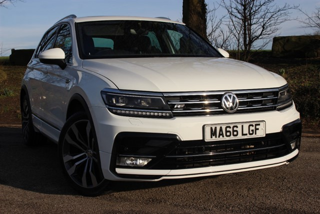 used VW Tiguan R Line TDI 4Motion BlueMotion Technology in sheffield-south-yorkshire
