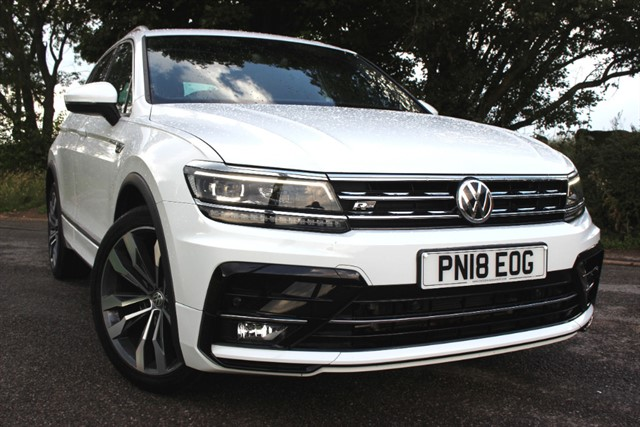 used VW Tiguan R-Line TDI 4Motion BlueMotion Technology DSG in sheffield-south-yorkshire