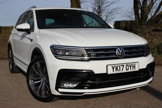used VW Tiguan R Line TDI 4Motion BlueMotion DSG in sheffield-south-yorkshire