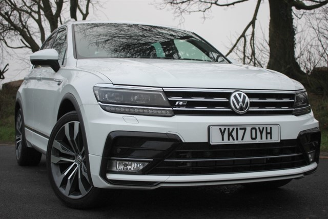 used VW Tiguan R Line TDI 4Motion BlueMotion Technology DSG in sheffield-south-yorkshire