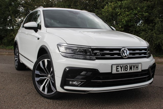used VW Tiguan R-Line Bluemotion 4Motion BI-TDI DSG in sheffield-south-yorkshire
