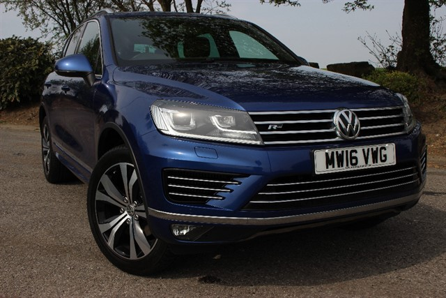 used VW Touareg R Line V6 TDI BlueMotion Technology in sheffield-south-yorkshire