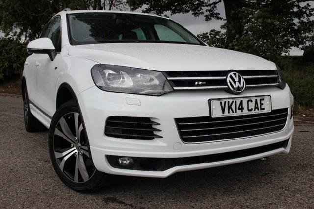 used VW Touareg R-Line V6 TDI Bluemotion Technology in sheffield-south-yorkshire