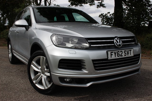 used VW Touareg Altitude V6 TDI Bluemotion Technology in sheffield-south-yorkshire