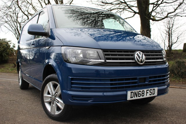 used VW Transporter T6 T28 S/Line BlueMotion Technology in sheffield-south-yorkshire