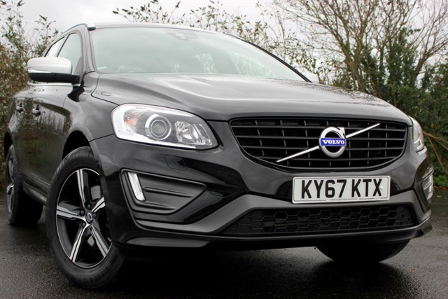 used Volvo XC60 D5 R-Design Lux Nav Auto in sheffield-south-yorkshire