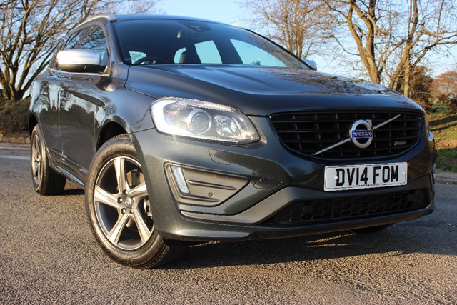 used Volvo XC60 D5 R-Design Lux Nav in sheffield-south-yorkshire