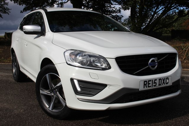 used Volvo XC60 D4 R-Design Nav in sheffield-south-yorkshire
