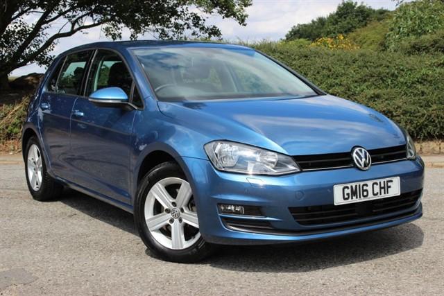 used VW Golf Match Edition TDI BlueMotion Technology DSG in sheffield-south-yorkshire