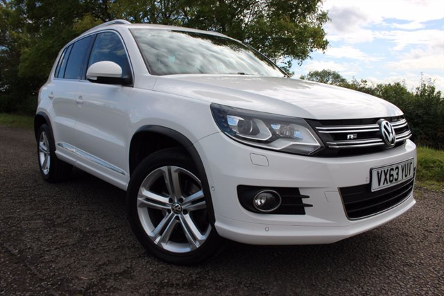 used VW Tiguan R Line TDI BlueMotion tech 4Motion in sheffield-south-yorkshire