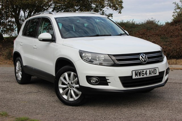 used VW Tiguan Match TDI Bluemotion Technology 4Motion in sheffield-south-yorkshire