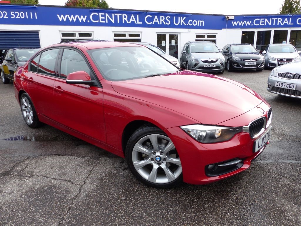 bmw 320d 2 0 sport turbo diesel in red for sale leigh on sea essex central cars leigh ltd. Black Bedroom Furniture Sets. Home Design Ideas