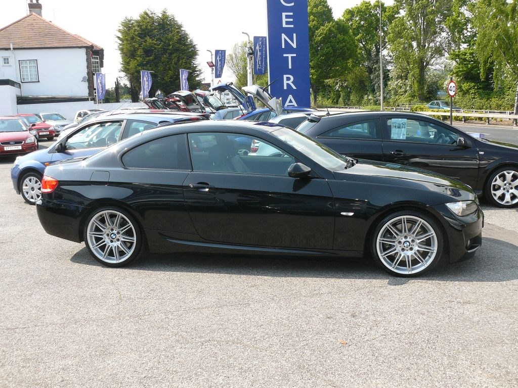 bmw 330d 3 0 m sport highline turbo diesel automatic in black for sale leigh on sea essex. Black Bedroom Furniture Sets. Home Design Ideas