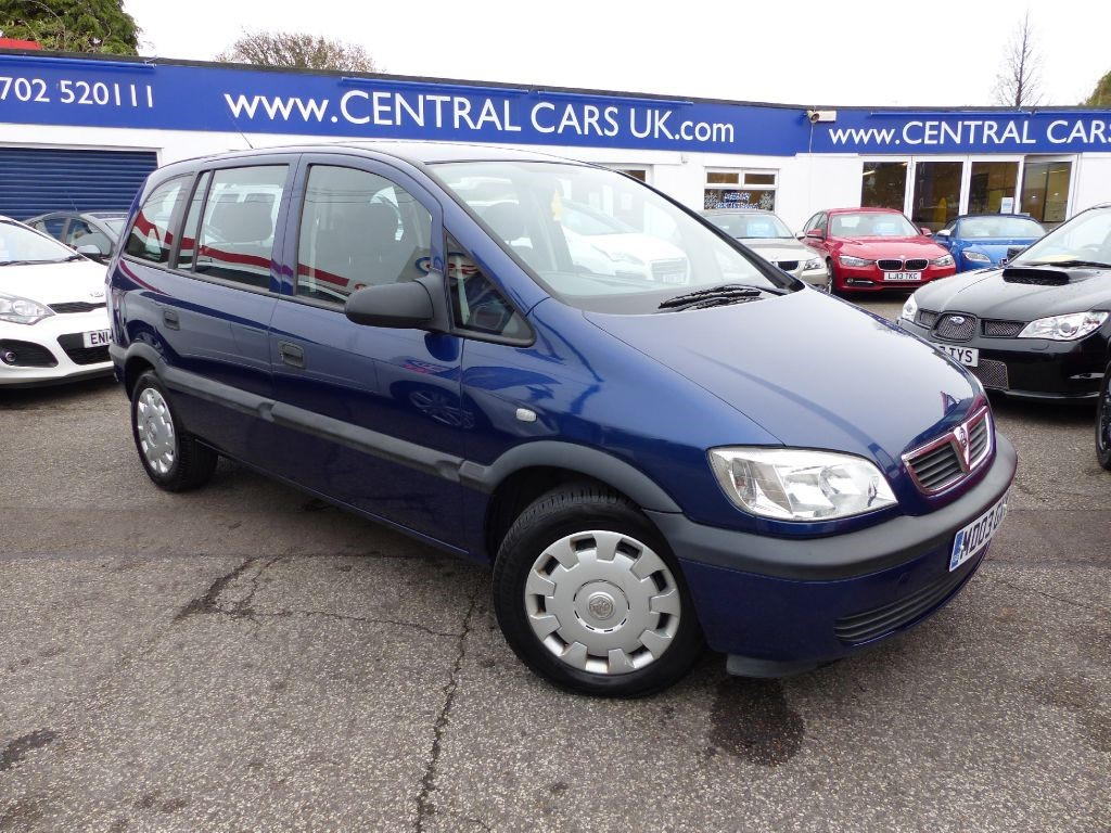 vauxhall zafira 1 6 club 16v for sale leigh on sea. Black Bedroom Furniture Sets. Home Design Ideas