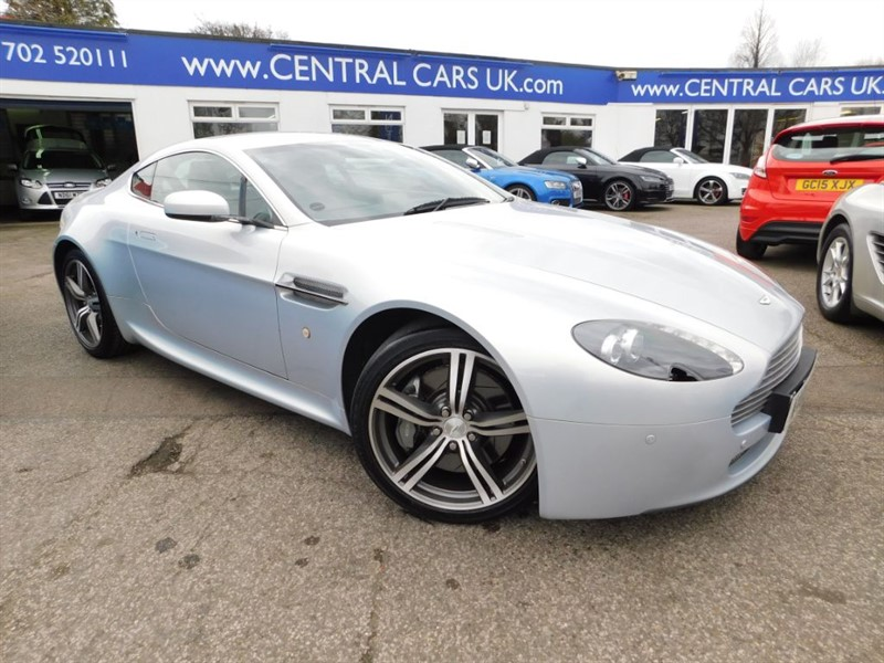 used Aston Martin Vantage V8 N400 In Metallic Silver in leigh