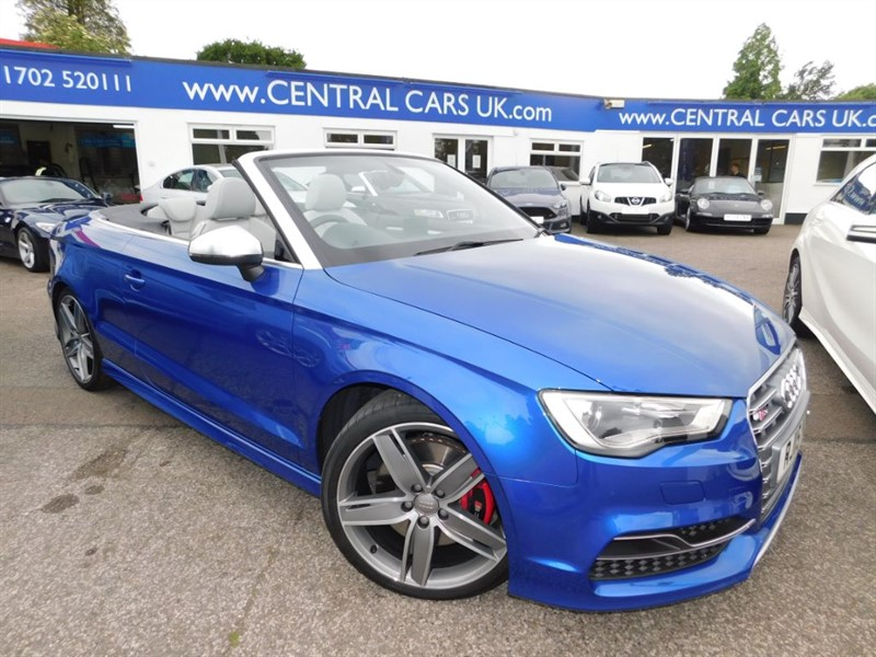 used Audi A3 2.0 S3 Quattro In Metallic Blue in leigh
