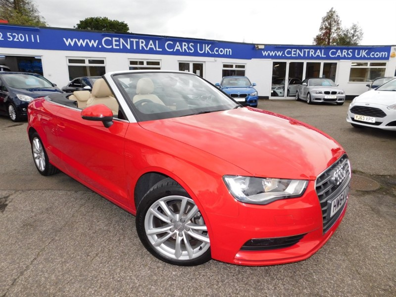 used Audi A3 TFSI SE in leigh