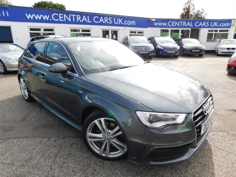 used Audi A3 TFSI S LINE in leigh