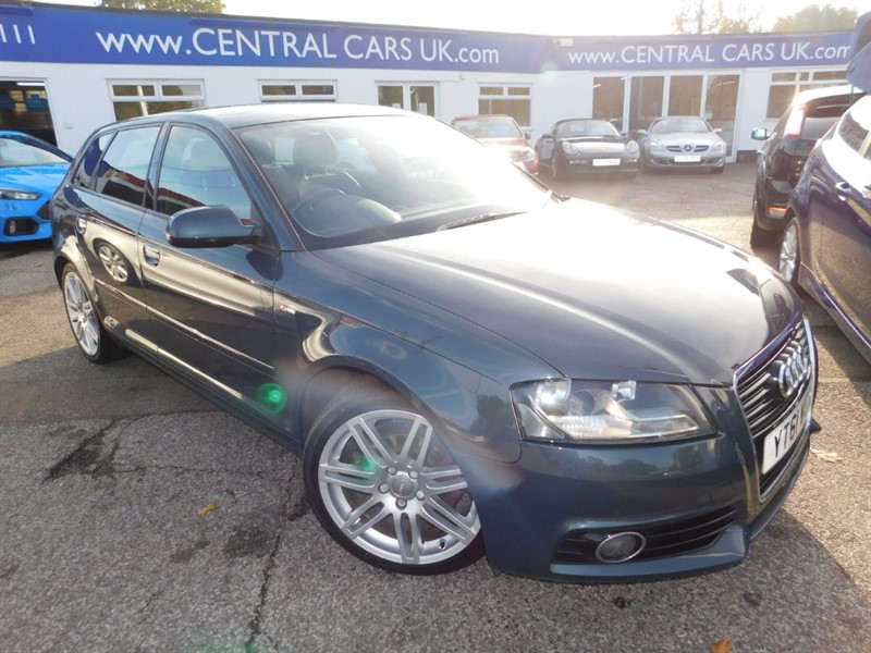 used Audi A3 TDI S LINE in leigh