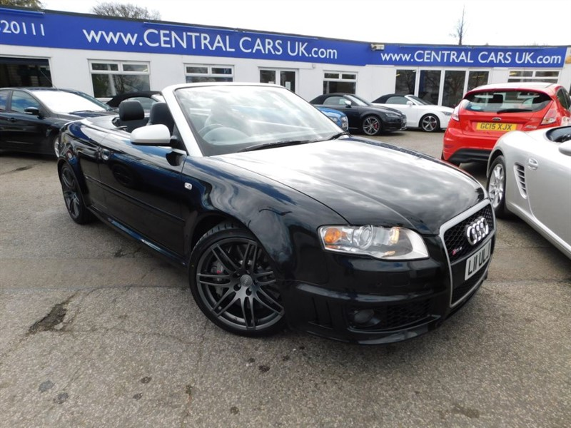 used Audi A4 4.2 RS4 Quattro In Black in leigh