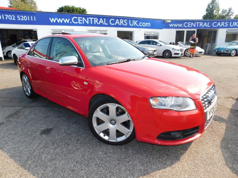 used Audi A4 4.2 S4 Quattro In Red in leigh