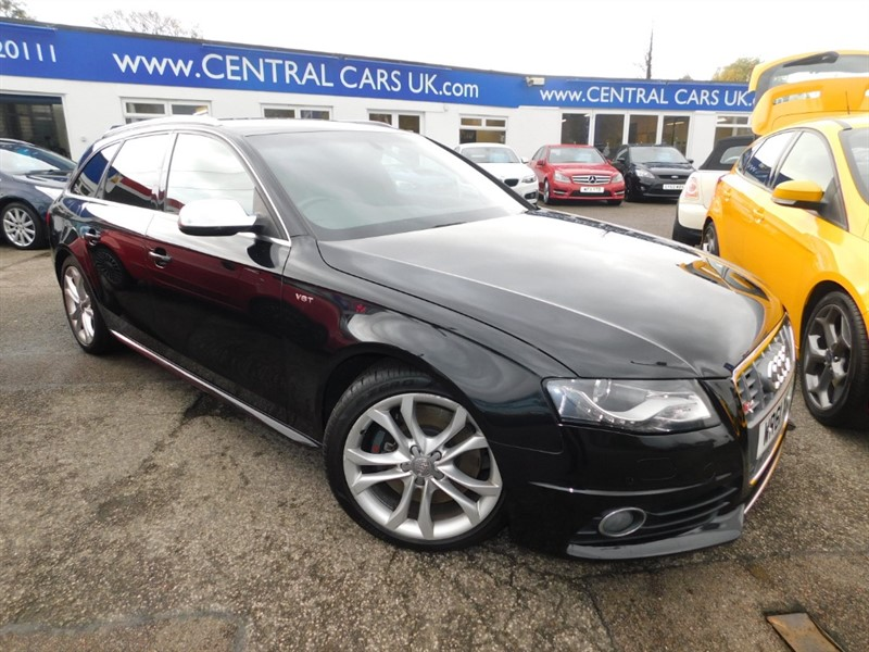used Audi A4 3.0 S4 AVANT QUATTRO Automatic In Black in leigh