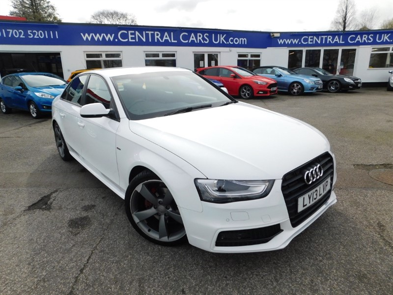 used Audi A4 TDI S LINE BLACK EDITION in leigh