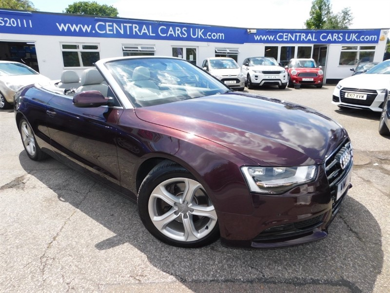 used Audi A5 TFSI QUATTRO SE in leigh
