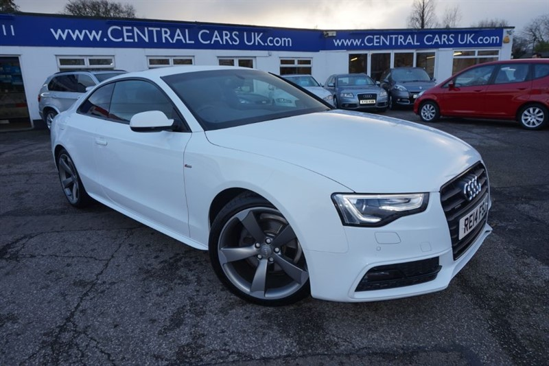 used Audi A5 2.0 TDI QUATTRO S LINE BLACK EDITION S/S in leigh