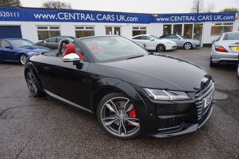 used Audi TT 2.0 TTS TFSI Quattro S Tronic Automatic In Black in leigh