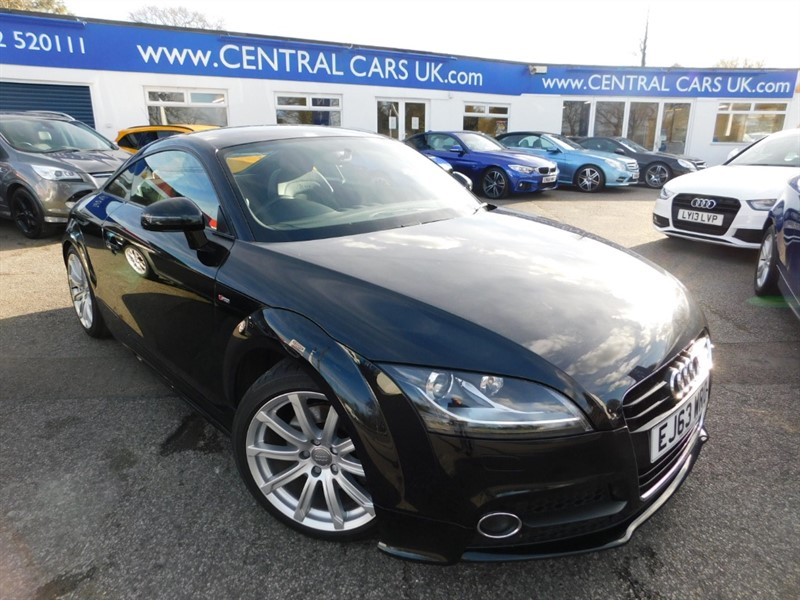 used Audi TT TFSI S LINE in leigh