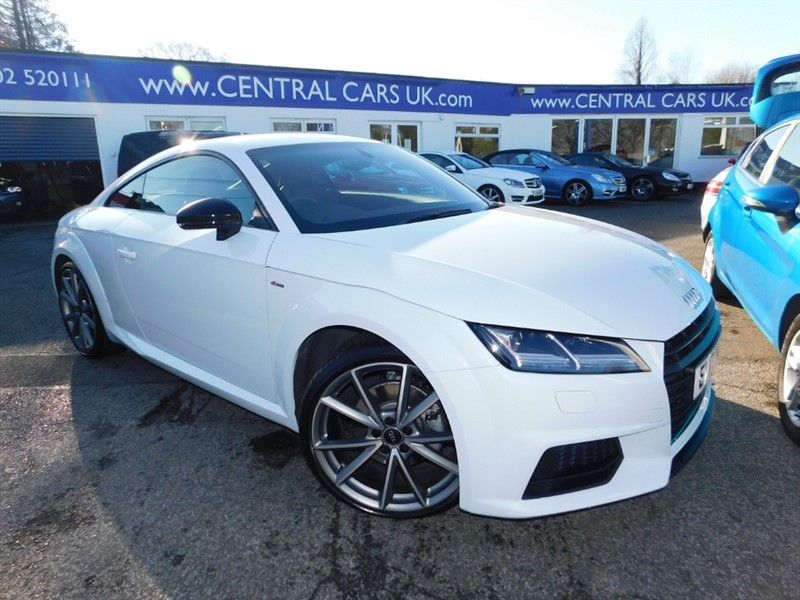used Audi TT S Line Black Edition in leigh