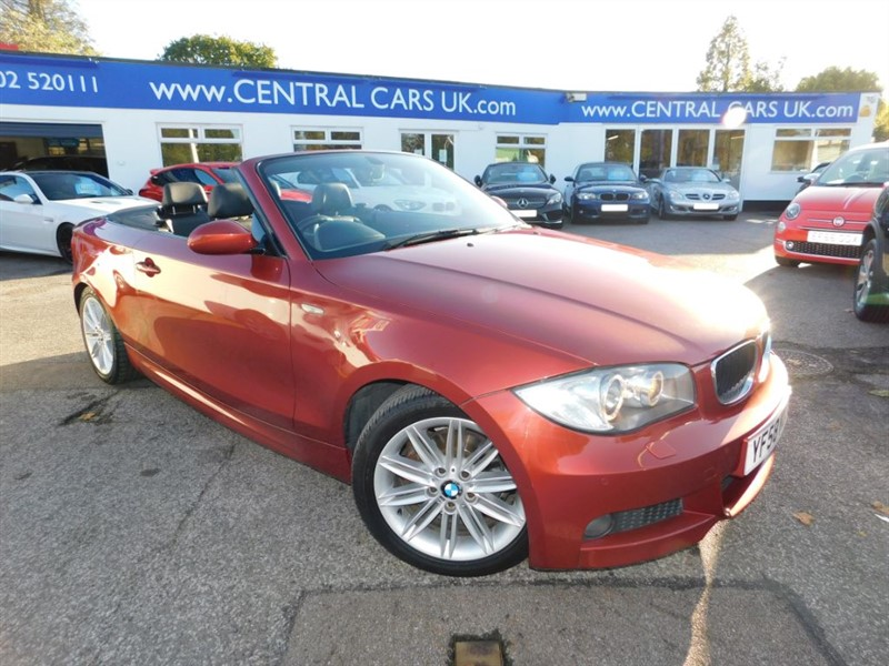 used BMW 120d 2.0 M Sport In Metallic Red in leigh