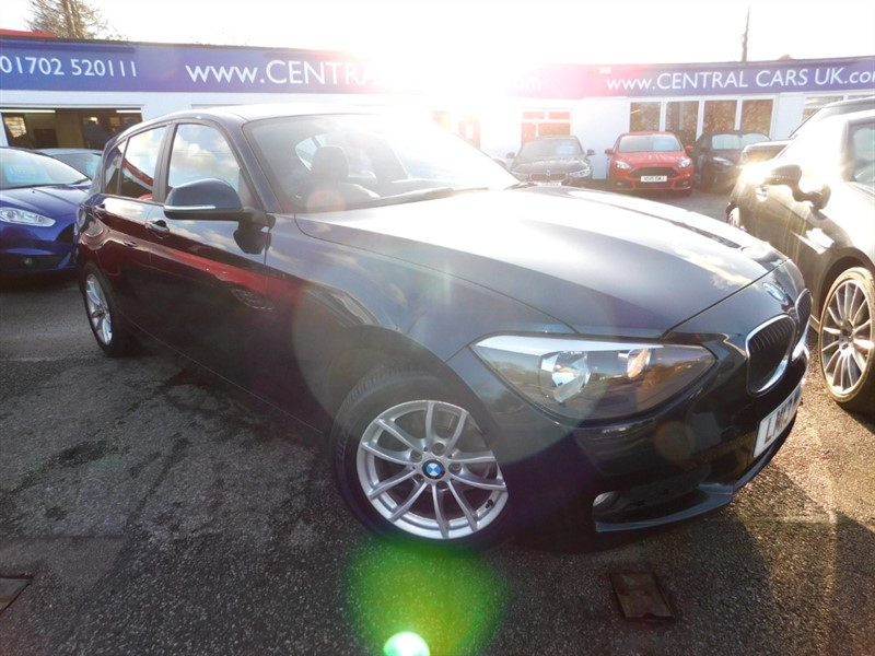 used BMW 116d EFFICIENTDYNAMICS in leigh
