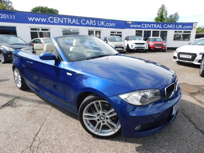 used BMW 123d M SPORT in leigh