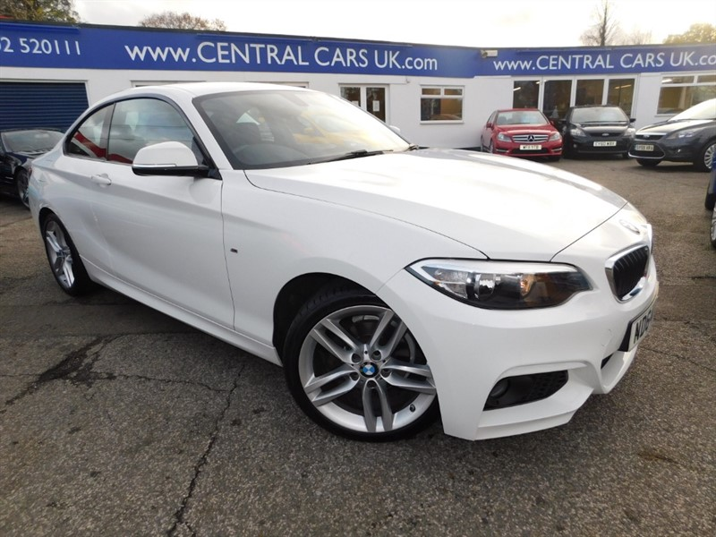 used BMW 218d M SPORT in leigh