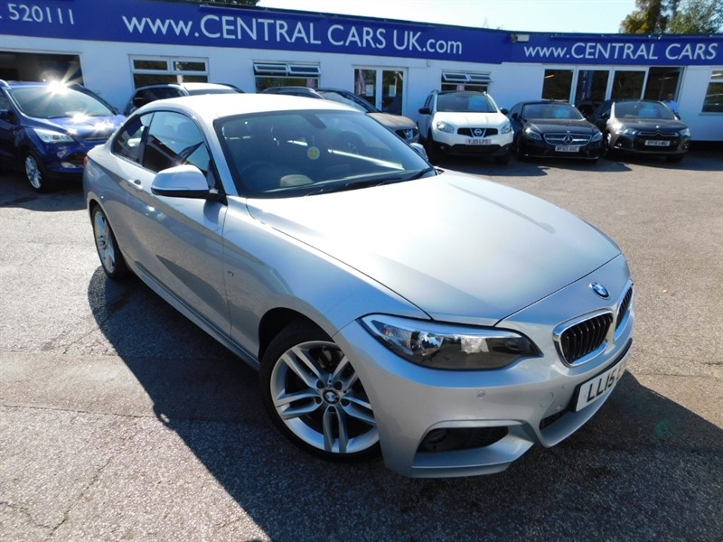 used BMW 220d M SPORT in leigh