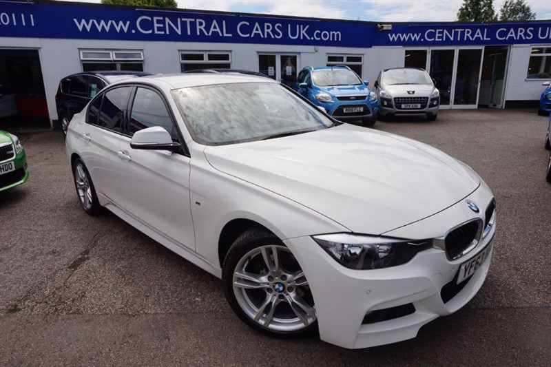 used BMW 318d 2.0 M Sport Automatic 4 Door In White in leigh