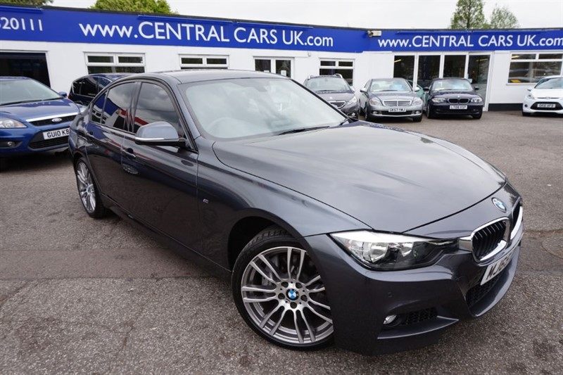 used BMW 335d XDRIVE M Sport In Metallic Grey in leigh