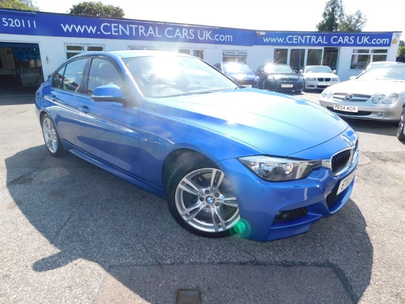 used BMW 325d M SPORT in leigh