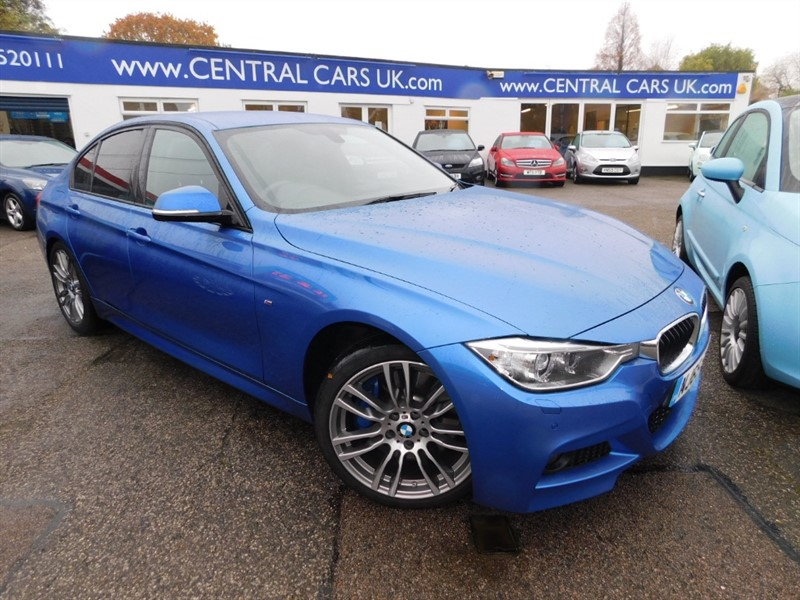 used BMW 330d M SPORT in leigh