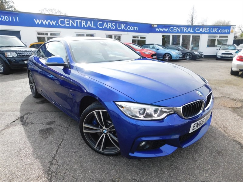used BMW 435d XDRIVE M SPORT in leigh