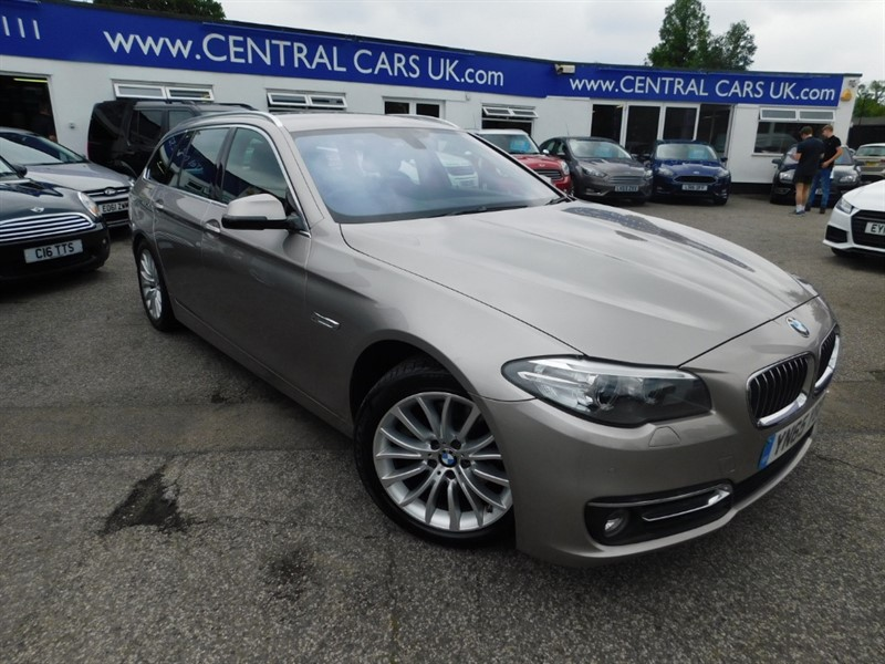 used BMW 520d LUXURY TOURING in leigh