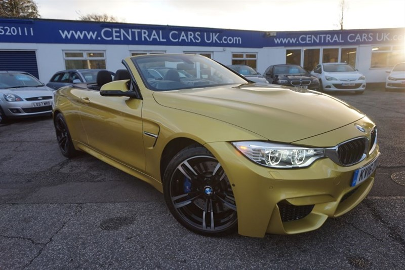 used BMW M4 Automatic DCT in leigh