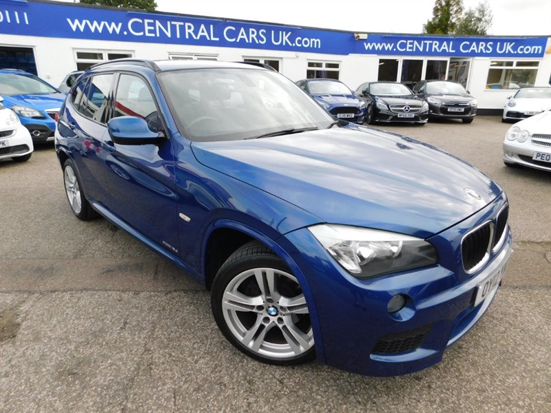 used BMW X1 XDRIVE18D M SPORT in leigh