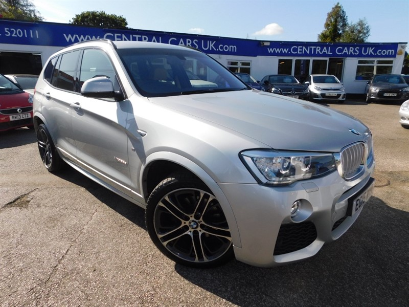 used BMW X3 XDRIVE30D M SPORT in leigh