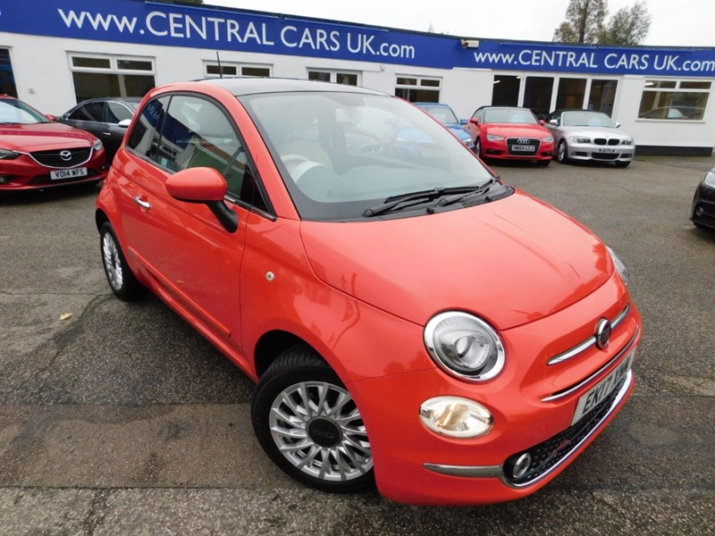 used Fiat 500 LOUNGE in leigh