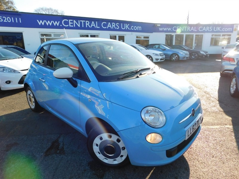 used Fiat 500 COLOUR THERAPY in leigh