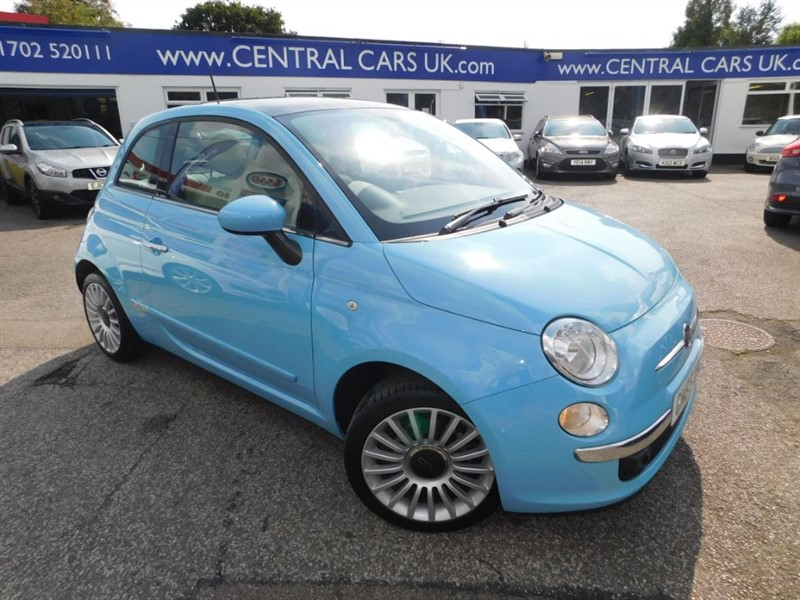 used Fiat 500 1.2 Lounge 3 Door In Blue in leigh